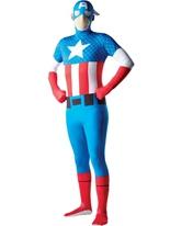 Costume de capitaine Amérique seconde peau Seconde Peau