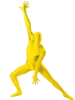 Morphsuit jaune Seconde Peau