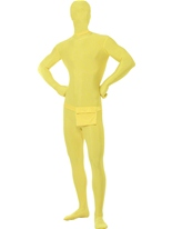 Costume jaune seconde peau Seconde Peau