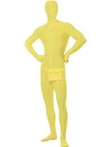 Costume jaune seconde peau Seconde Peau