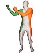 Drapeau Irlande Morphsuit Seconde Peau