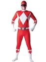 Seconde Peau Power Ranger rouge Ranger deuxième peau Costume