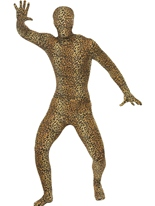 Costume de léopard modèle seconde peau Seconde Peau