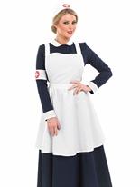 Costume infirmière victorien Déguisement Victorien