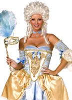 5 Pièce Bijou Boutique Costume Baroque Déguisement Victorien