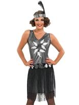 Costume Robe de soirée des années 1920 Costume Années 1920