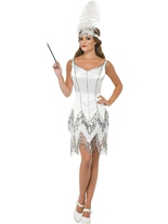 Fièvre Flapper Dazzle Costume Costume Années 1920