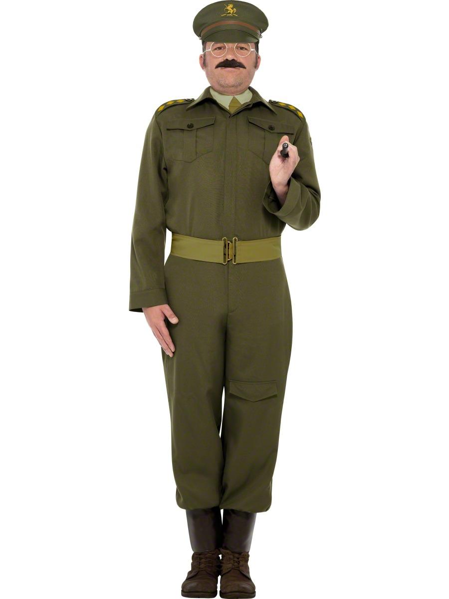 Costume Années 1940 WW2 Costume de capitaine de la garde nationale