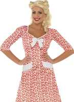 WW2 Costume Sweet Heart Costume Années 1940