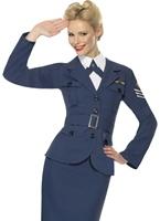 WW2 Costume femme capitaine de la Force aérienne Costume Années 1940
