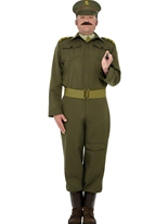 WW2 Costume de capitaine de la garde nationale Costume Années 1940