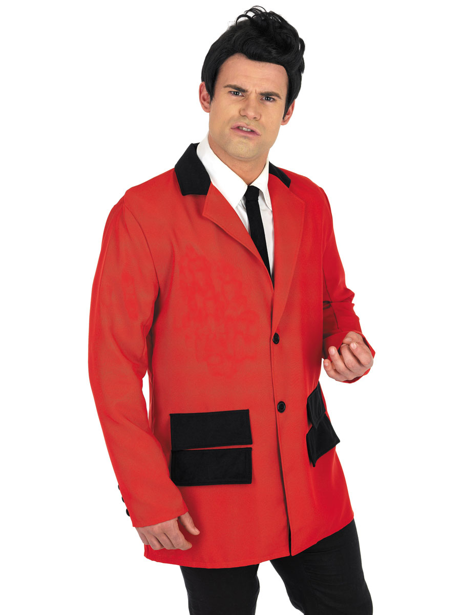 Costume Années 1950 Costume Teddy Boy rouge