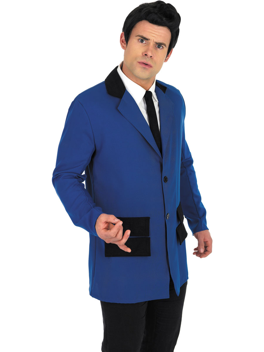 teddy boy blue costume costume ann es 1950 costume d 39 poque 18 05 2019. Black Bedroom Furniture Sets. Home Design Ideas