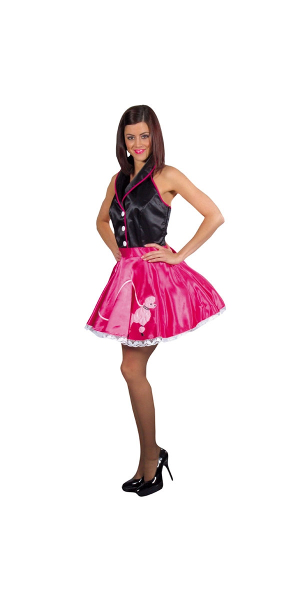 Costume Années 1950 50 ' s Rock n Roll Dress Costume