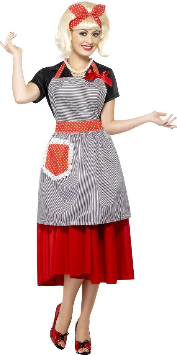 Costume Années 1950 Kit de miel ménagère des années 50