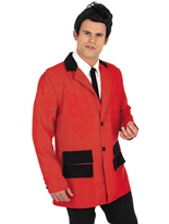 Costume Teddy Boy rouge Costume Années 1950
