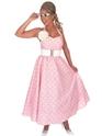 Costume Années 1950 Journée rose 1950 robe Costume