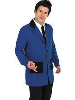 Teddy Boy Blue Costume Costume Années 1950