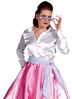 années 1950 rock n Roll jupe rose Costume Années 1950
