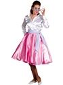 Costume Années 1950 années 1950 rock n Roll jupe rose