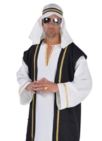 Costume Deluxe cheik arabe Déguisement Oriental