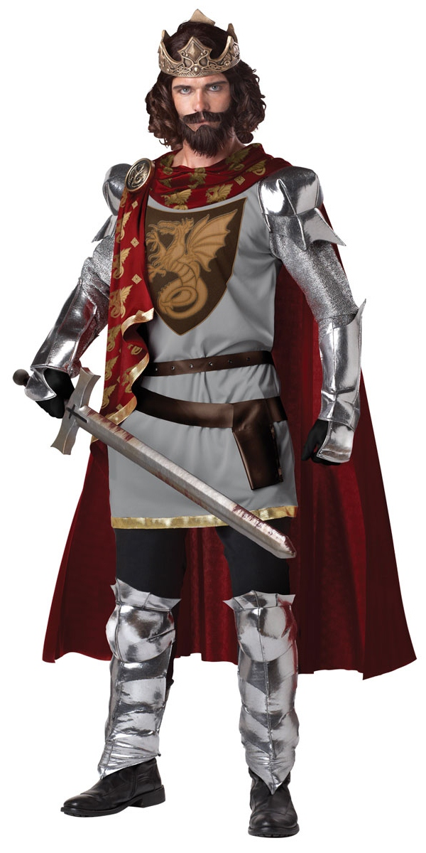 Costume Médiévaux Costume de roi Arthur