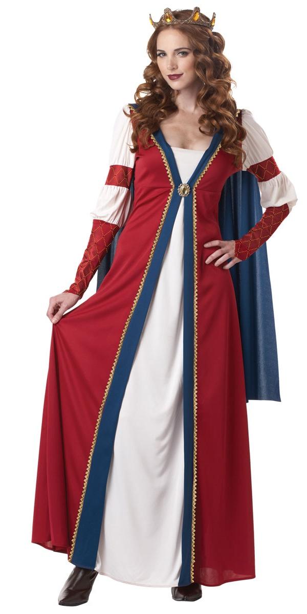 Costume Médiévaux Costume Reine Renaissance