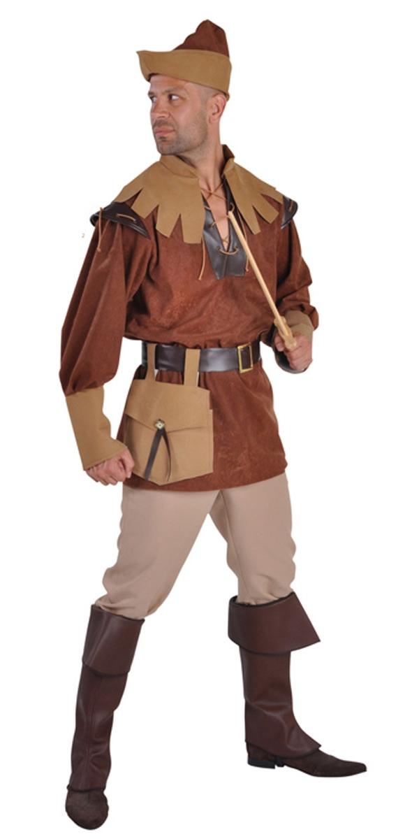 Costume Médiévaux Costume de Robin des bois luxe