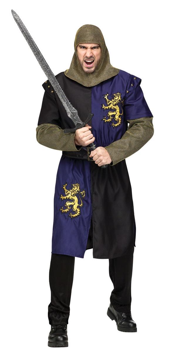 Costume Médiévaux Costume de luxe chevalier Renaissance