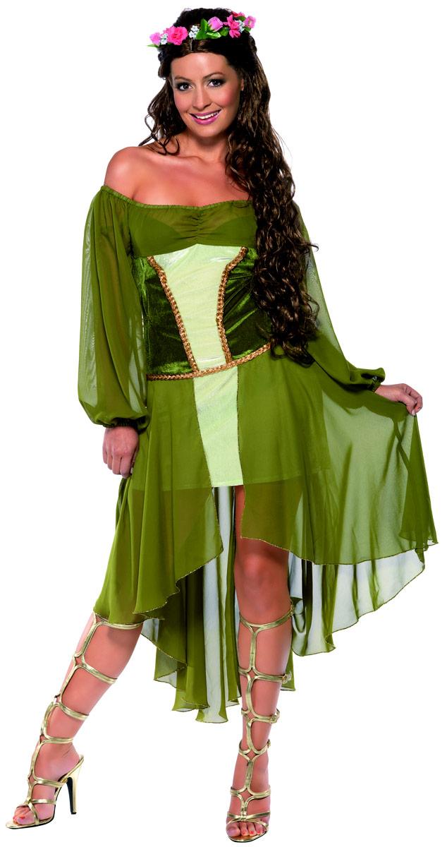 Costume Médiévaux Costume de jeune fille juste