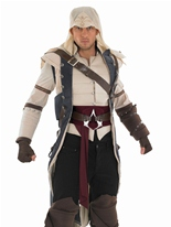 Assassins Creed II Assassin Colonial Costume Costume Médiévaux