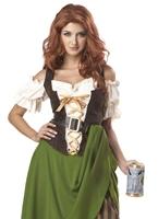 Costume de jeune fille de taverne Costume Médiévaux