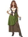 Costume Médiévaux Costume de jeune fille de taverne