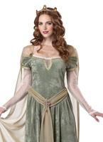 Costume de reine Guenièvre Costume Médiévaux