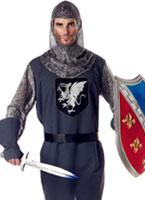 Costume chevalier Vaillant Costume Médiévaux