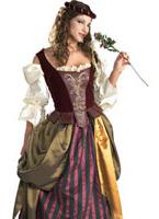 Costume de jeune fille Renaissance Costume Médiévaux
