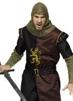 Costume de luxe chevalier Valiant Costume Médiévaux