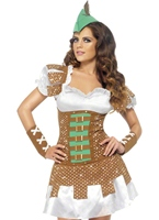 Fièvre Boutique Sexy Robin des bois Costume Costume Médiévaux