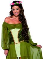 Costume de jeune fille juste Costume Médiévaux