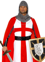 Costume héros de St George Costume Médiévaux