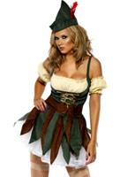 Fièvre Outlaw Sexy Costume Costume Médiévaux