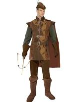 Costume de Robin des bois romanesque Costume Médiévaux