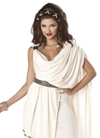 Costume Deluxe Womens Toga Déguisement Romain