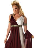 Costume d'impératrice romaine Déguisement Romain