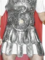 Les soldats romains jupe Armour Silver Déguisement Romain