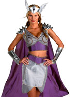 Costume de Viking Valkyrie Costume Viking