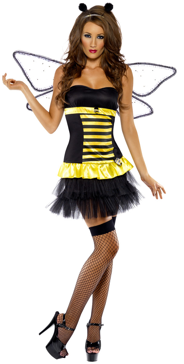 Deguisement abeille Réversible Bumble Bee Lady Bug Costume