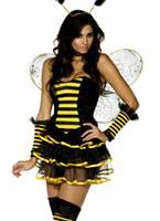 Costume de bourdon de fièvre Deguisement abeille