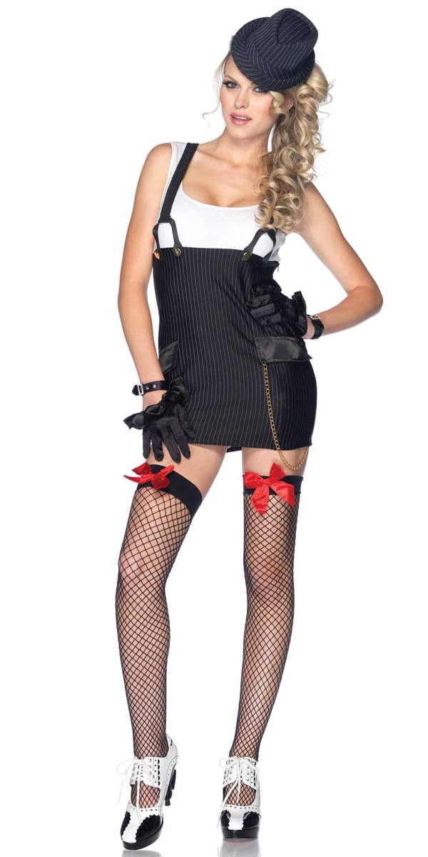 Costume de fille de gangster