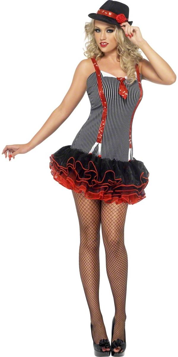 Deguisement cabaret Costume de Gangster de fièvre